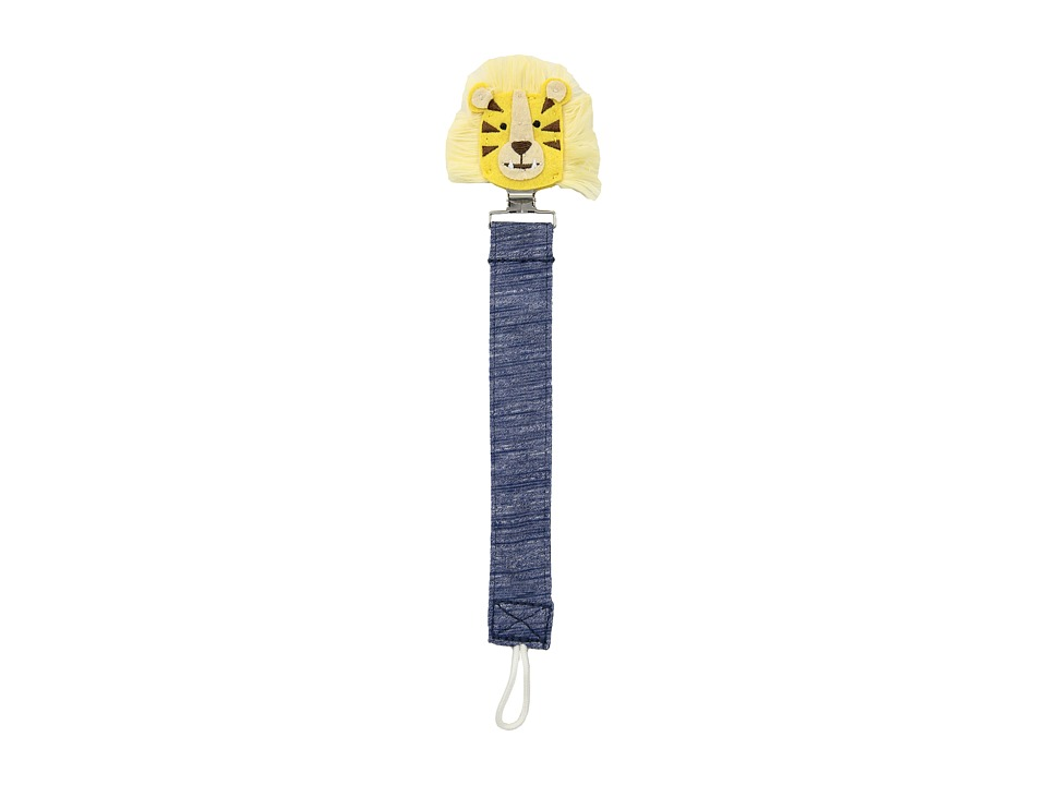 Mud Pie - Lion Pacy Clip (Blue) Accessories Travel