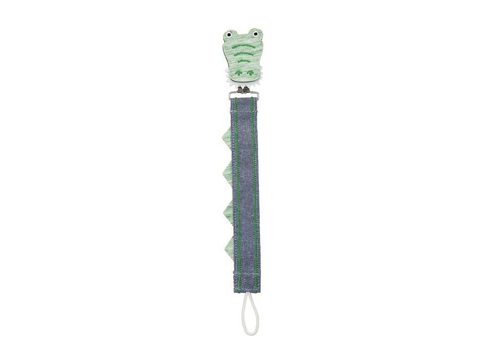 Mud Pie - Dinosaur Pacy Clip (Green) Accessories Travel
