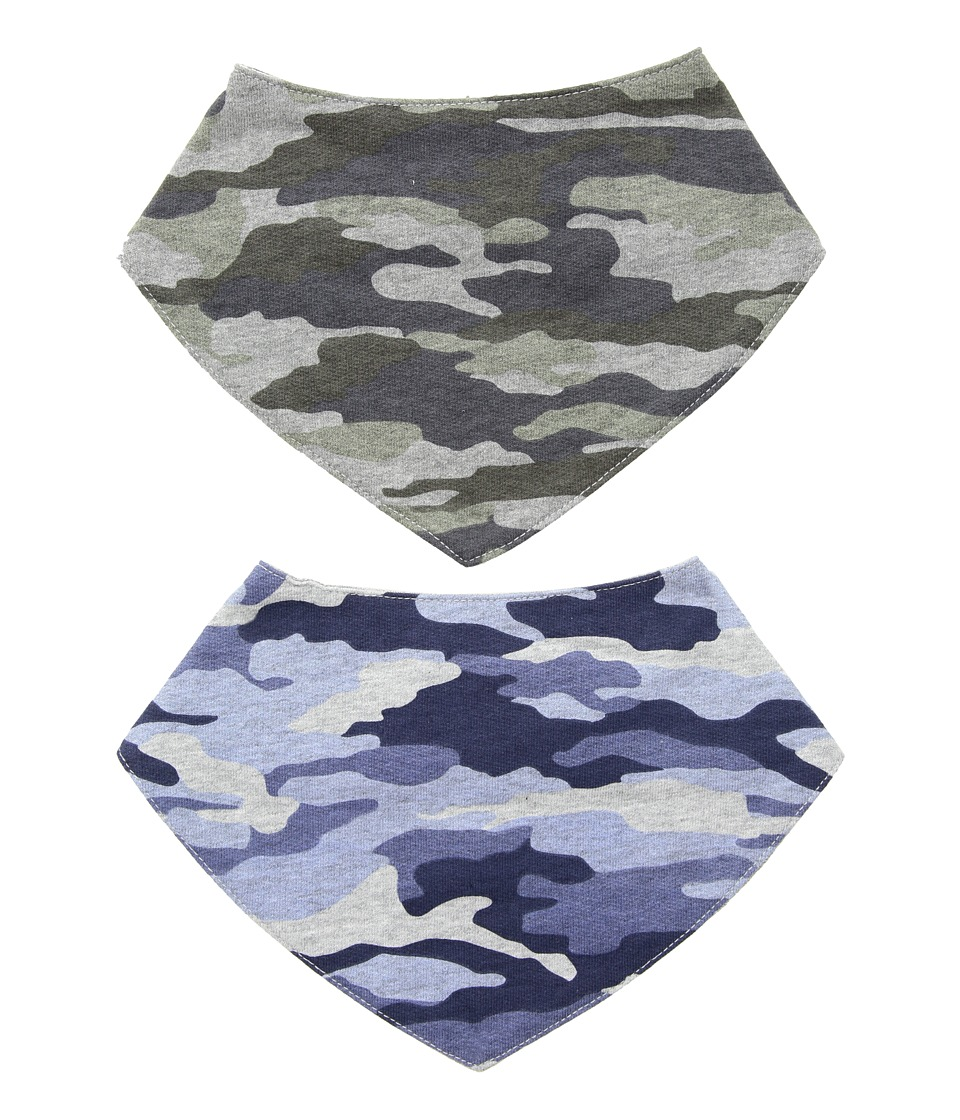 Mud Pie - Handkerchief Dribble Bibs Set of 2 (Green) Accessories Travel