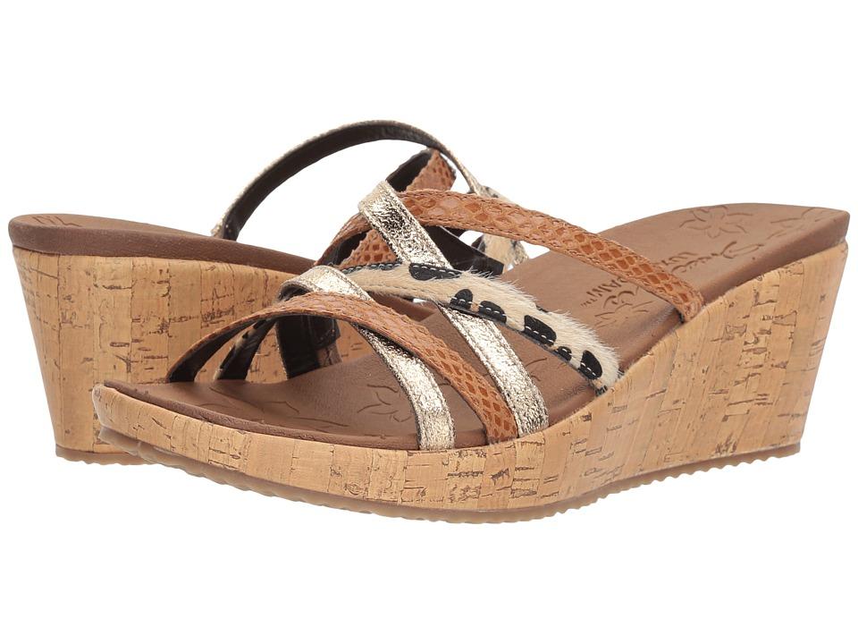 SKECHERS - Beverlee - Beach Blast (Tan) Womens Shoes