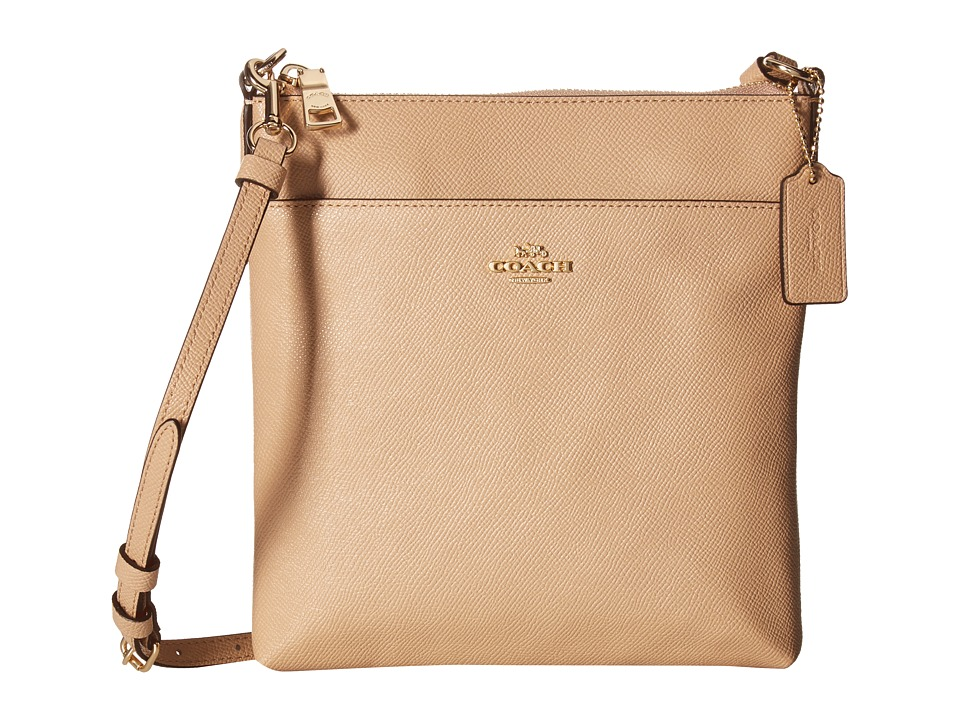 COACH - Messenger Crossbody (LI/Beechwood) Cross Body Handbags