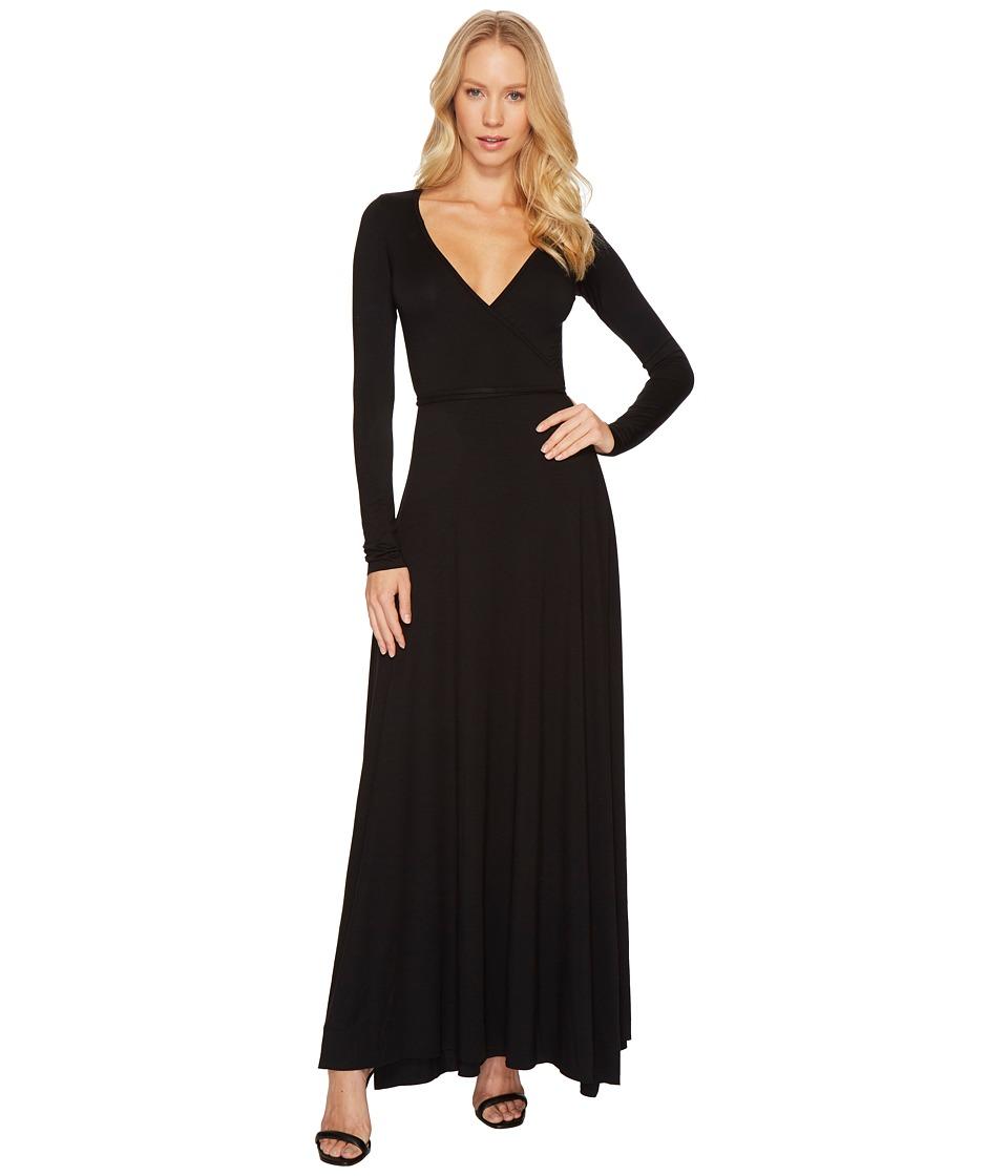 Rachel Pally - Long Wrap Dress (Black) Womens Dress