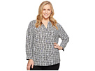 NIC+ZOE Plus Size Pin Up Top