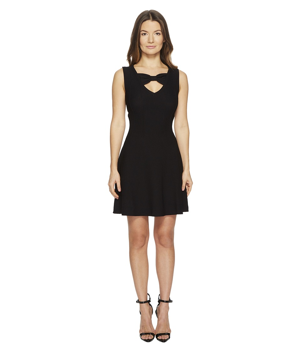 Boutique Moschino - Dress w/ Cut Out (Black) Womens Dress
