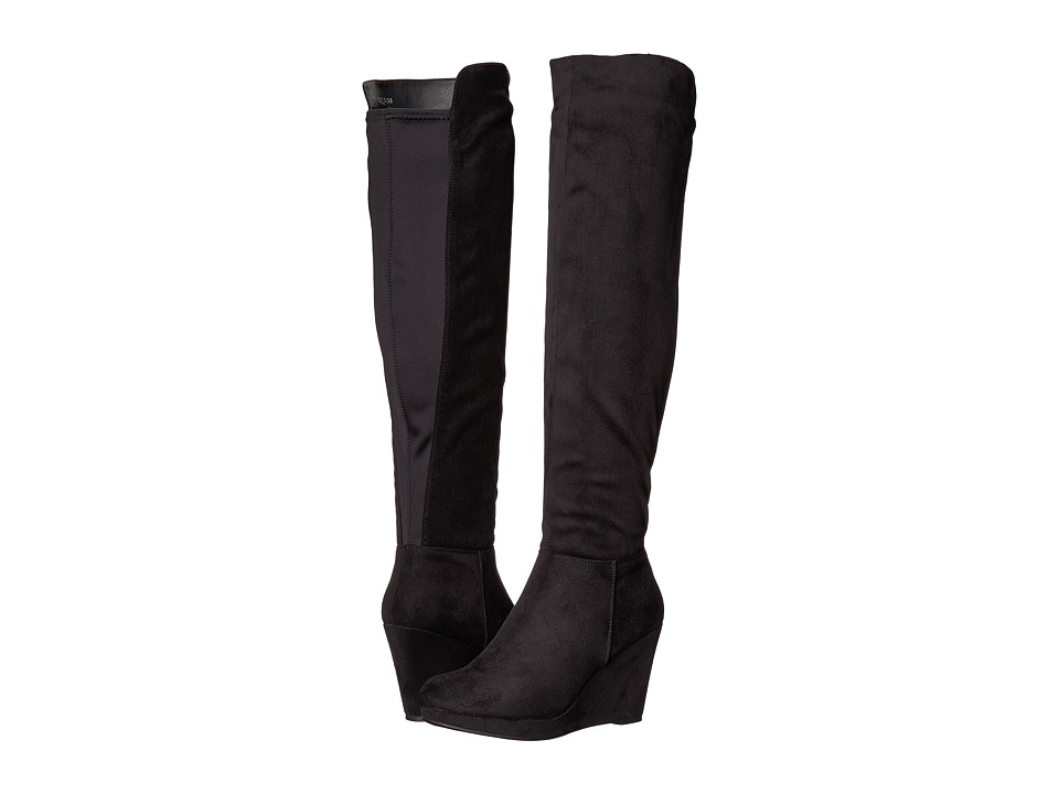 Chinese Laundry - Lulu Boot (Black Microsuede) Womens Boots