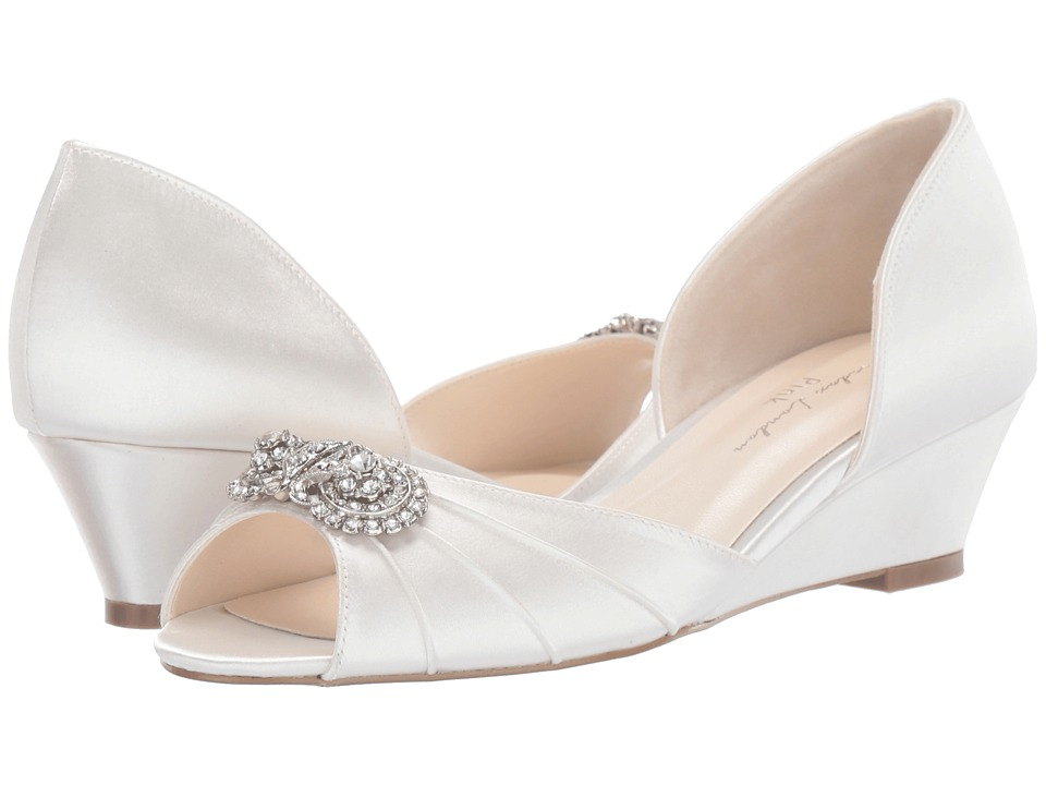 1940s Style Wedding Dresses | Classic Wedding Dresses Paradox London Pink Kai Ivory Womens Shoes $99.95 AT vintagedancer.com