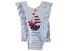 Mud Pie Sail Away Ruffle One-Piece Swimsuit (Infant)