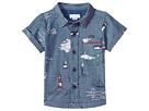 Mud Pie Sail Away Resort Short Sleeve Button Down Shirt (Infant/Toddler)