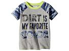 Mud Pie Camo Dirt Short Sleeve Shirt (Infant/Toddler)