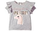 Mud Pie Unicorn Sequin Short Sleeve Tee (Infant/Toddler)