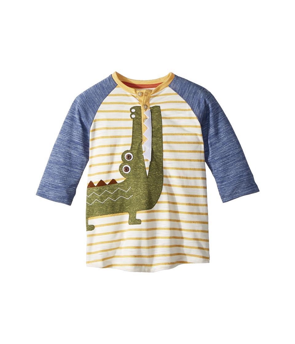 Mud Pie - Go Wild T-Shirt (Infant/Toddler) (Alligator Green) Boys Clothing