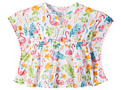 Mud Pie Flamingo Ruffle Swimsuit Cover-Up (Infant/Toddler)