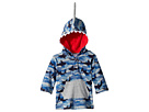 Mud Pie Camo Shark Hooded Swimsuit Cover-Up (Infant/Toddler)