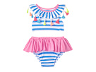 Mud Pie Tassels and Stripes Two-Piece Swimsuit (Infant)