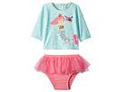 Mud Pie Mermaid Two-Piece Rashguard Swimsuit Set (Toddler)