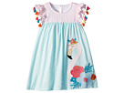 Mud Pie Flamingo Tassel Dress (Toddler)
