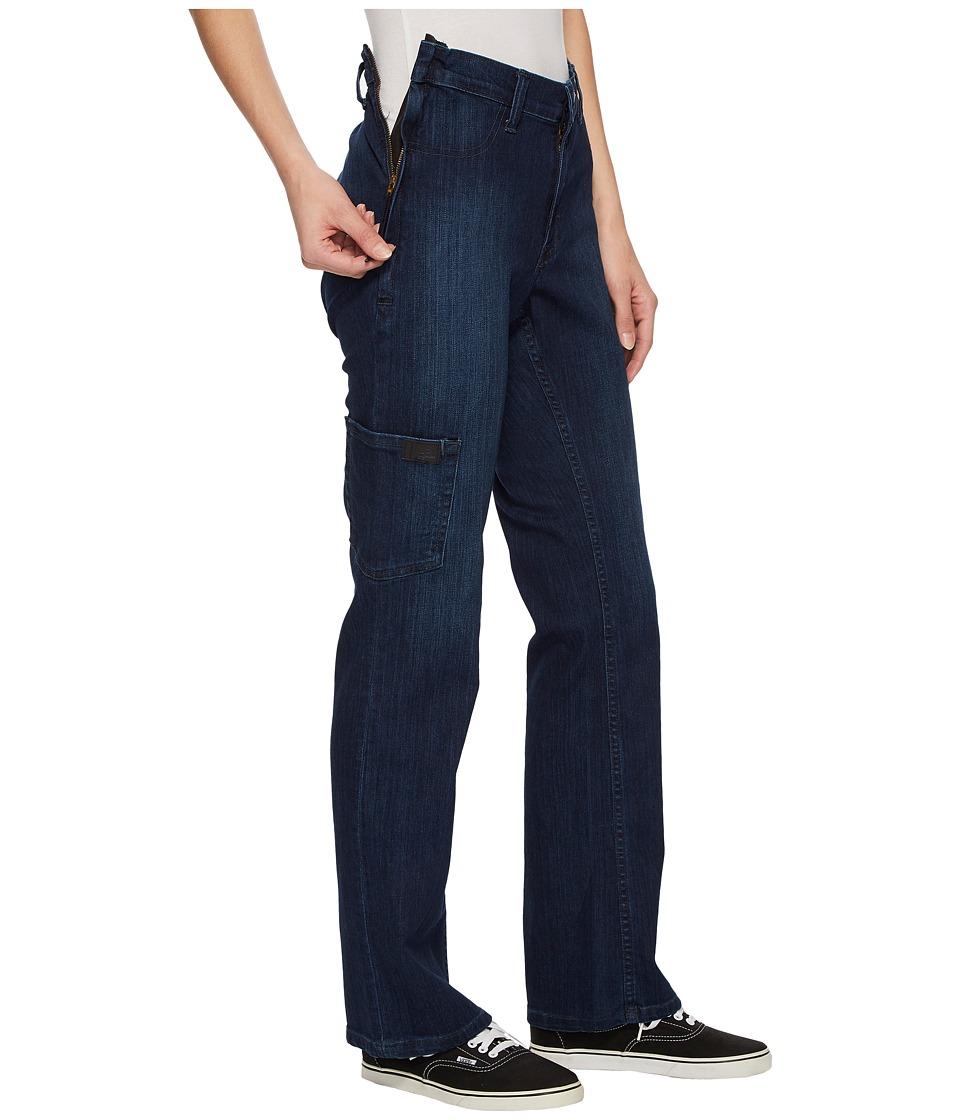 ABL Denim - Side -Zip Jeans in Dark Classic (Dark Classic) Womens Jeans