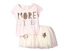 Mud Pie More Glitter Two-Piece Tutu Skirt Set (Infant/Toddler)
