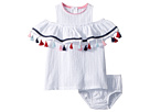 Mud Pie Tassel Dress and Bloomer Two-Piece Set (Infant)