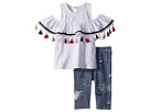 Mud Pie Tassel Tunic and Capris Two-Piece Set (Infant)