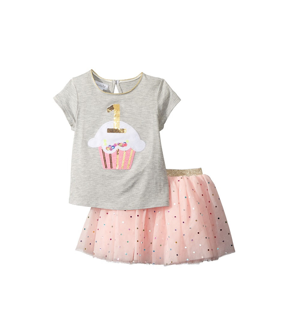 Mud Pie - 1st Birthday Confetti Two-Piece Tutu Set (Infan...