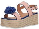 LOVE Moschino Platform Sandal w/ Pom Pom