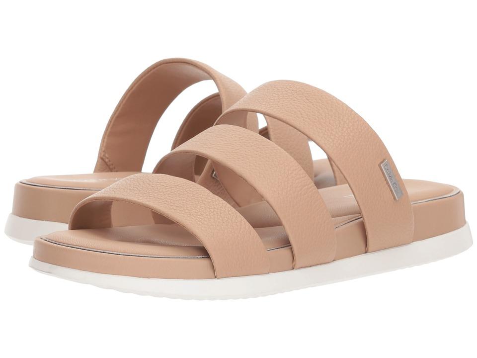 Calvin Klein Dalana Slide Sandal (Desert Sand) Women