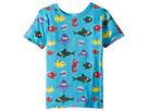 4Ward Clothing PBS KIDS(r) - Ocean Pattern Reversible Tee (Toddler/Little Kids)