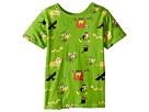 4Ward Clothing PBS KIDS(r) - Rainforest Pattern Reversible Tee (Toddler/Little Kids)