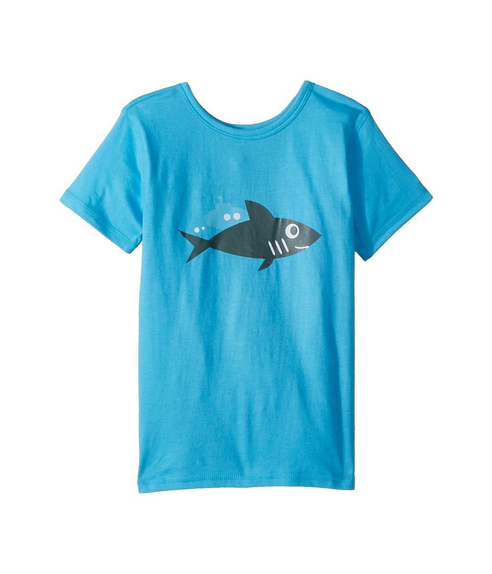 4Ward Clothing - PBS KIDS(r) - Ocean Graphic Reversible Tee (Toddler/Little Kids) (Sky Blue) Kids T Shirt