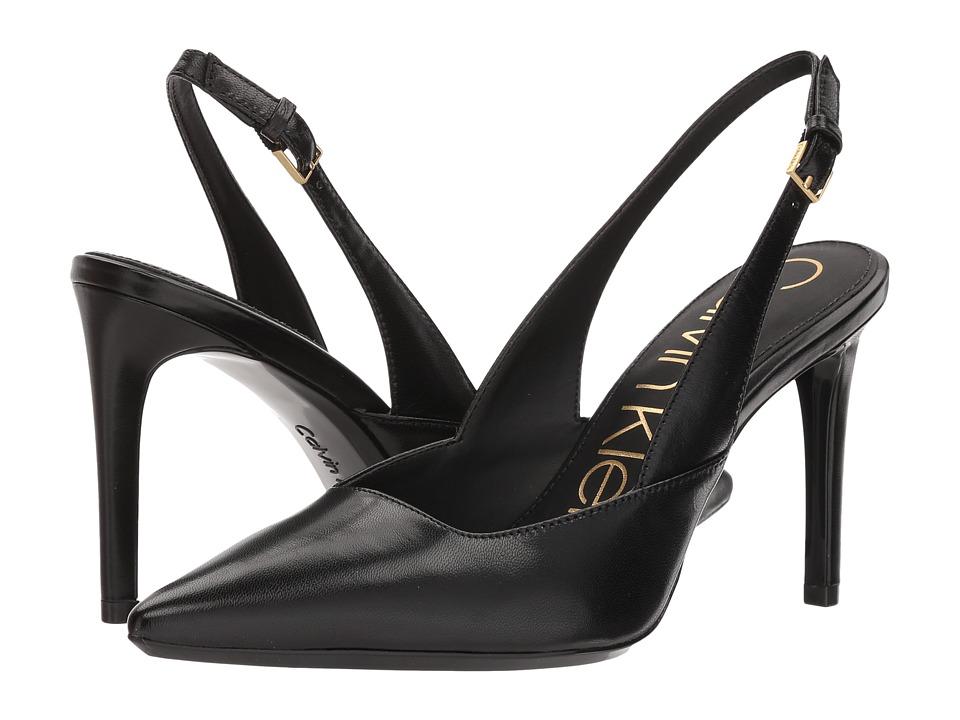 Calvin Klein - Rielle Slingback Pump (Black) High Heels