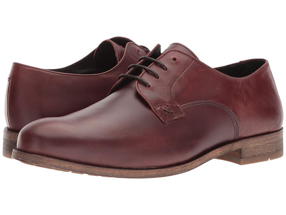 Wolverine - Larson Oxford (Oxblood) Men's Shoes