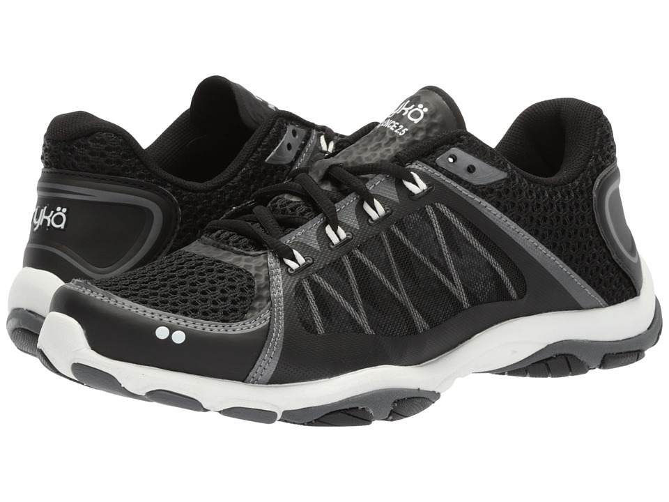 Ryka Influence 2.5 (Black/Meteorite/White) Women's Shoes