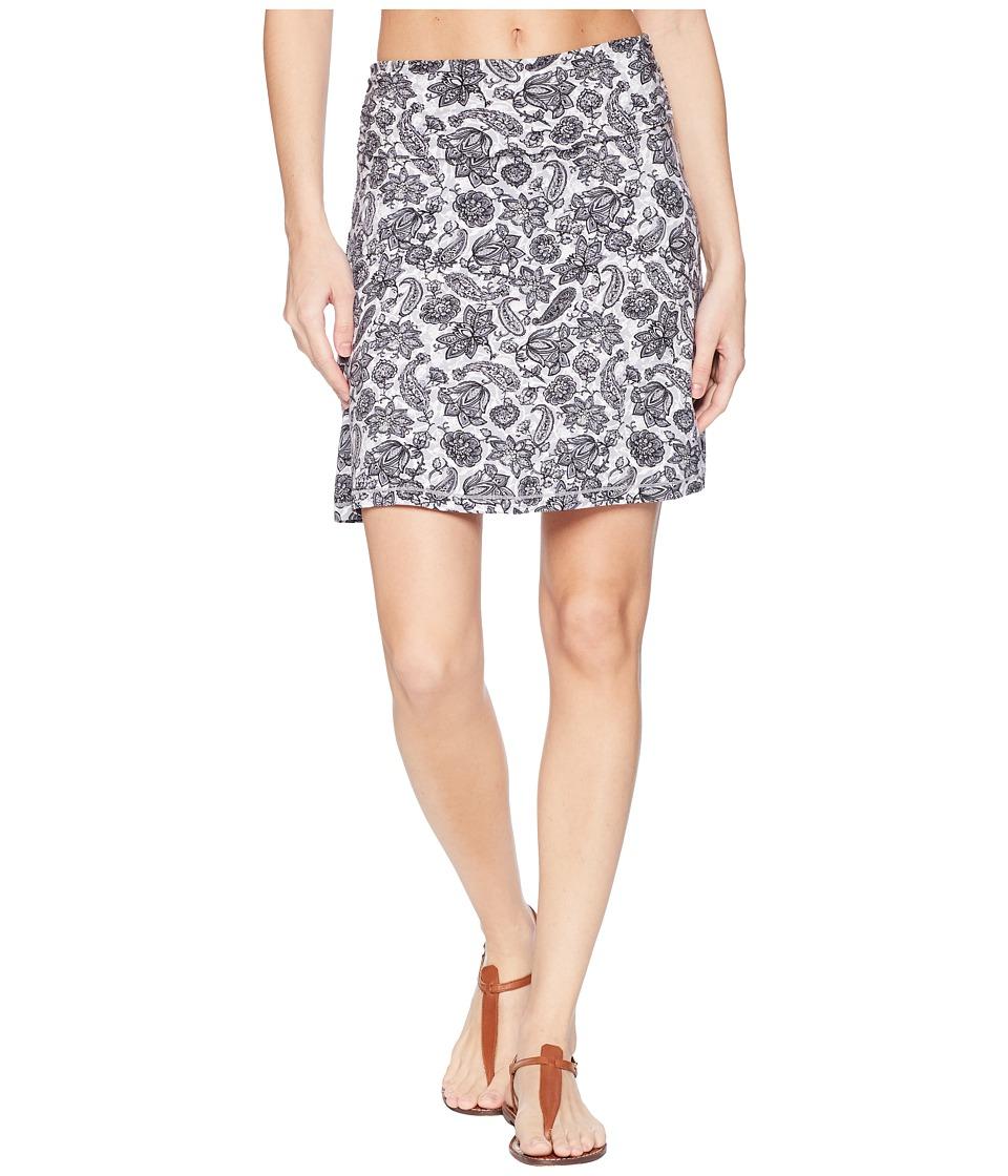 White Sierra - Tangier Odor Free Printed Skirt (Black) Womens Skirt