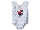 Mud Pie Sail Away Ruffle One-Piece Swimsuit (Toddler)