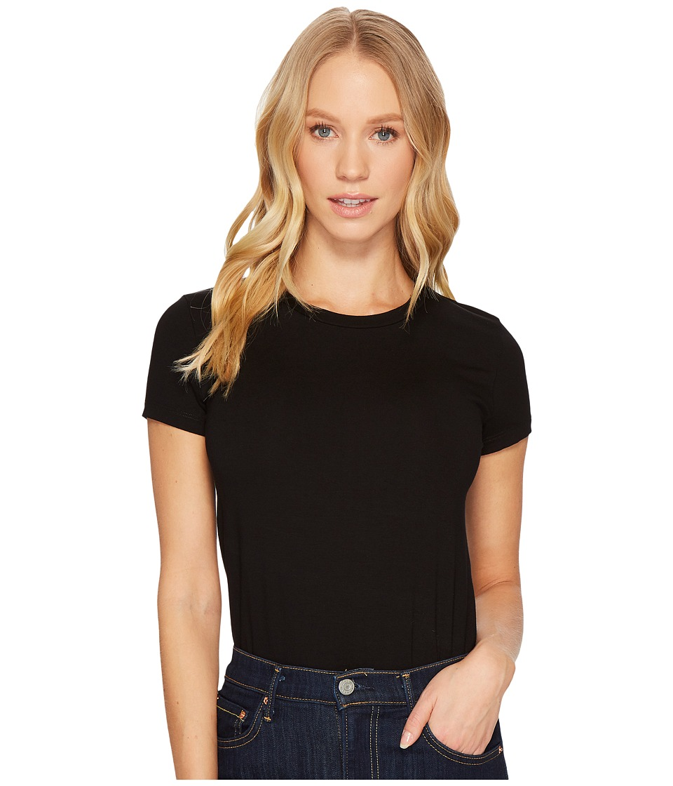Only Hearts - So Fine T-Shirt Bodysuit (Black) Womens Jumpsuit & Rompers One Piece