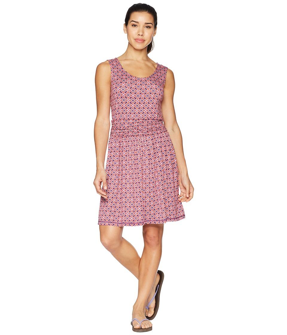 White Sierra Tangier Odor Free Printed Dress (Watermelon) Women