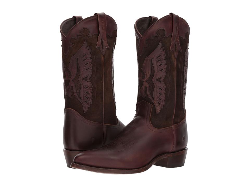 Frye Billy Firebird (Dark Brown) Cowboy Boots