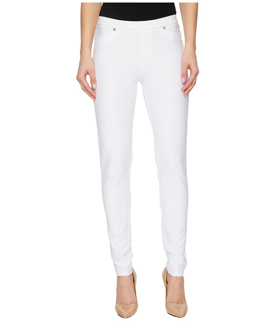 MICHAEL Michael Kors - Solid Pull-On Leggings (White) Womens Casual Pants