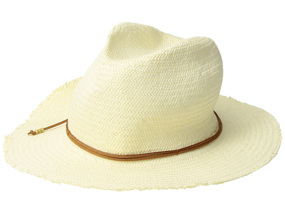 Hat Attack - Packable Fringed Rancher (Tan) Traditional Hats