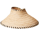 Hat Attack Roll-Up Travel Visor w/ Whipstitch Edge