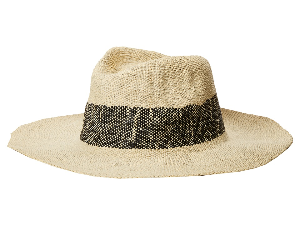 Hat Attack - Wide Stripe Fedora (Black) Fedora Hats