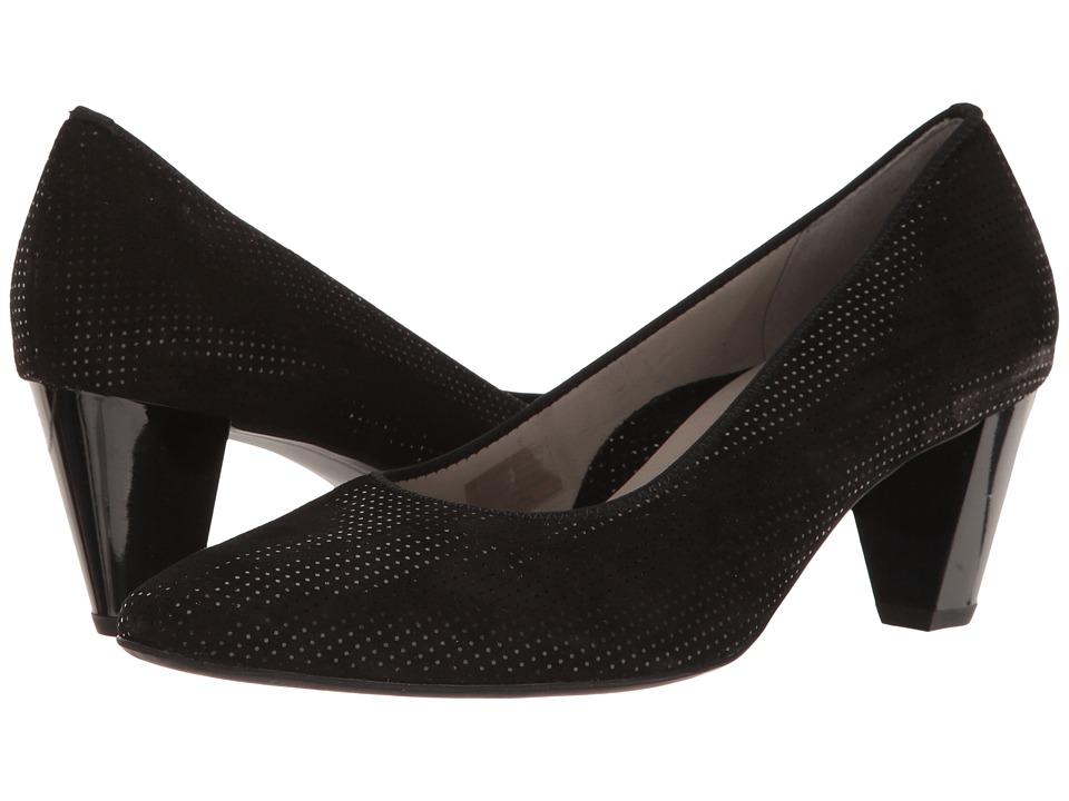ara - Paulina (Black Puntikid) Womens Shoes