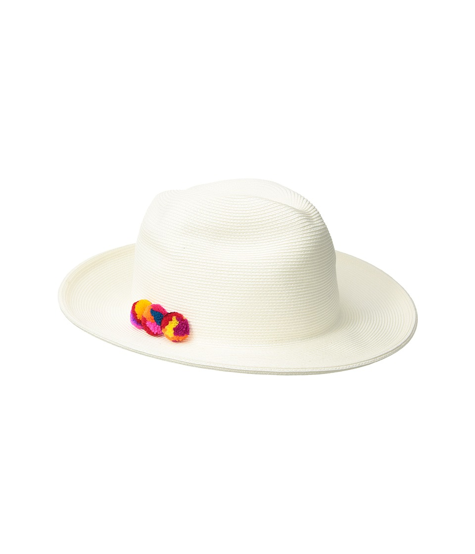 Hat Attack - Fine Braid Fedora (Bleach/Multi) Fedora Hats