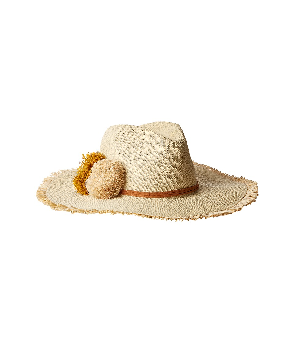 Hat Attack - Beachy Hat (Natural/Gold) Traditional Hats