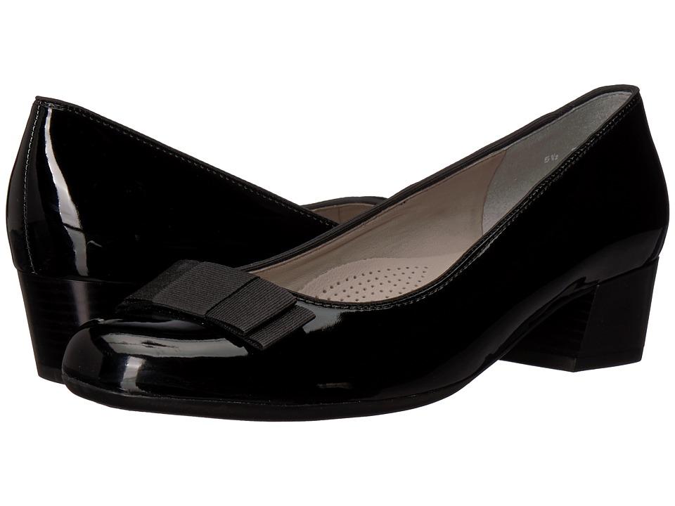 ara Nisha (Black Patent) Women's Shoes