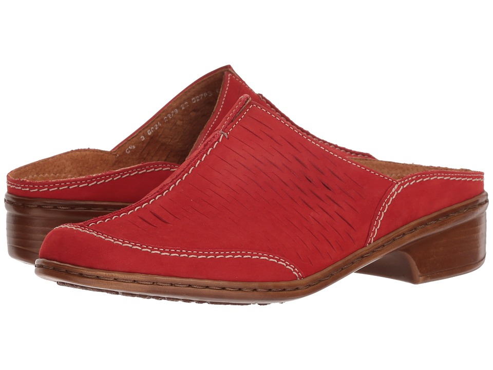 ara - Ruffina (Red Nubuck) Womens Shoes