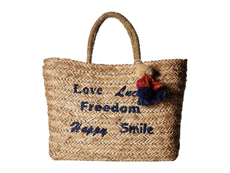 Hat Attack - Statement Tote (Natural) Tote Handbags