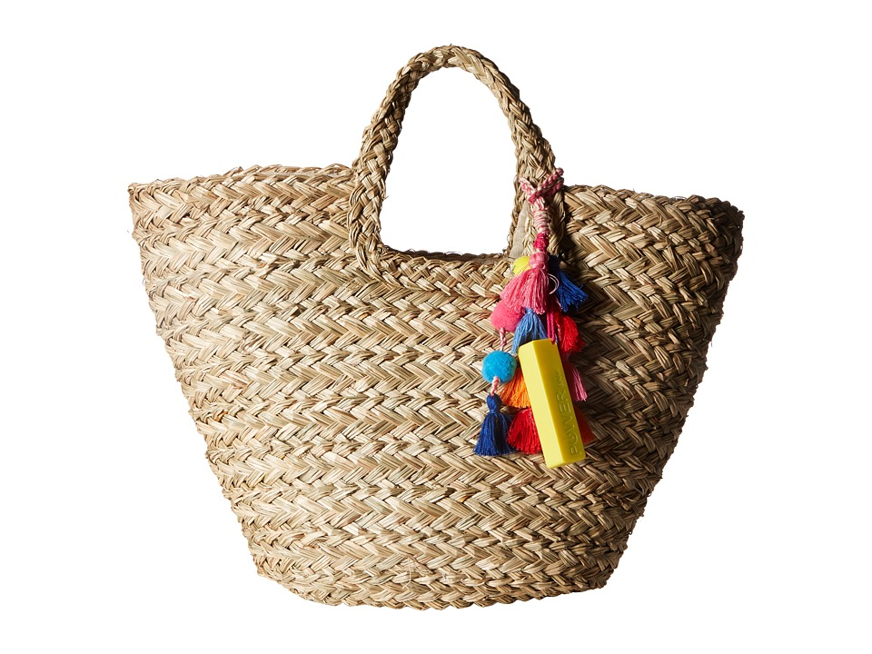 Hat Attack - Charge It Tote (Natural) Tote Handbags