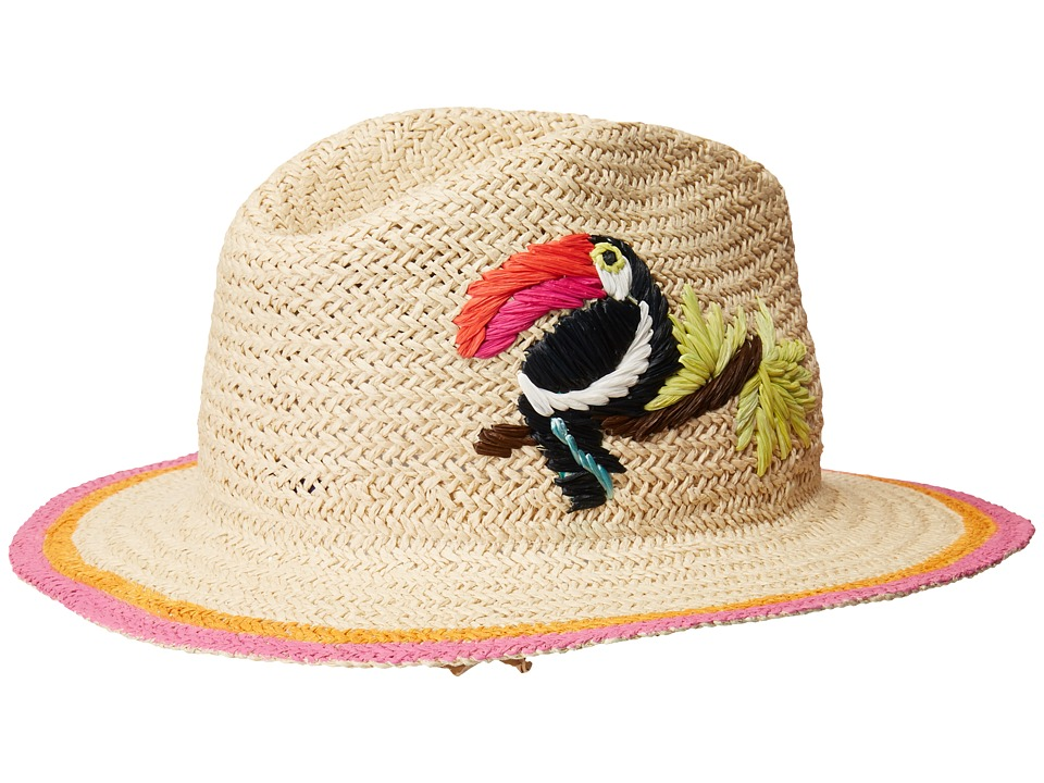 Hat Attack - Toucan Fedora (Natural) Traditional Hats